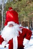 正圣诞老人 免版税图库摄影