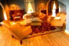 正式休息室空间 库存照片
