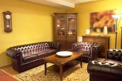 正式客厅设置 库存照片
