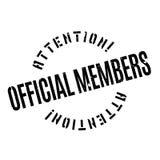 正式成员不加考虑表赞同的人 免版税库存图片