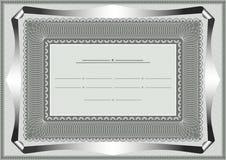 正式文件的框架 免版税库存图片