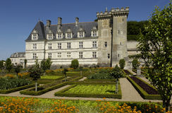 正式法国庭院 库存照片