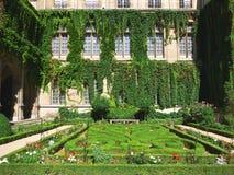 正式法国庭院 库存图片