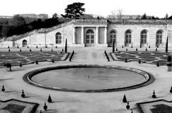 正式法国庭院 图库摄影