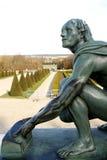 正式法国庭院 免版税库存图片