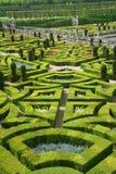 正式法国庭院 免版税库存照片