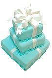 正式的生日蛋糕 库存照片