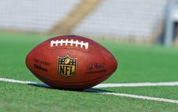 正式美国橄榄球联盟球 免版税库存照片