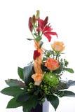 正式花卉婚礼安排 库存图片