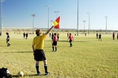 正式足球 图库摄影