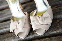 正式鞋子 库存图片