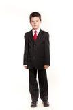 正式dresscode的男孩 免版税库存图片