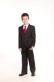 正式dresscode的男孩 免版税图库摄影