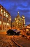 正教彼得斯堡圣徒寺庙 库存照片