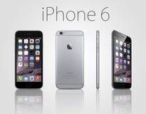 正新的iphone 6 库存照片