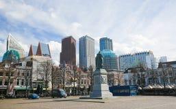 正方形在海牙,荷兰 免版税库存图片