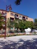 正方形在Arandjelovac,塞尔维亚 免版税库存图片