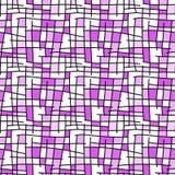 正方形瓦片无缝的背景 库存例证