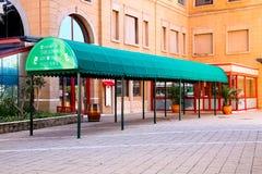正方形的剧院在山同市 图库摄影