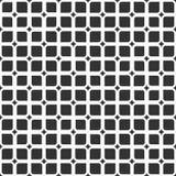 正方形的抽象无缝的样式与圆角落和sm的 库存照片