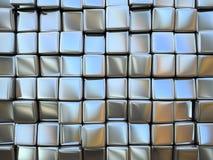 正方形的抽象模式 图库摄影