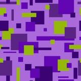 正方形的样式是不同颜色 库存图片
