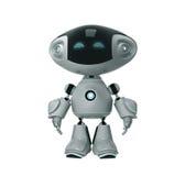正玩具机器人 向量例证