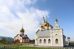 正统修道院/风景以教会为目的/ 免版税库存照片
