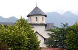 正统修道院13世纪, Montenegro 库存照片
