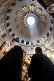 正统基督徒星期五好耶路撒冷的标记 库存图片