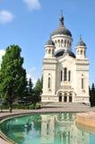 正统的大教堂 免版税库存图片