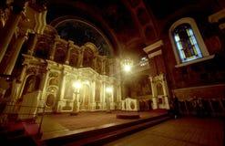 正统的大教堂 免版税库存照片