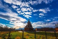 正统的教会 Berdsk,新西伯利亚oblast,俄罗斯 免版税库存图片
