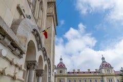 正统神学院,科鲁Napoca,罗马尼亚 图库摄影