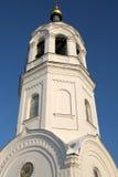 正统belltower的教会 库存图片