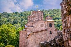 正统Ravanica的修道院 库存图片