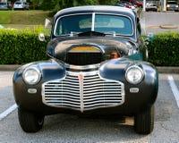 正面图20世纪40年代式样Oldsmobile 库存照片