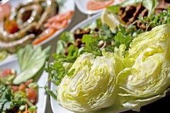 正餐传统土耳其 免版税库存照片