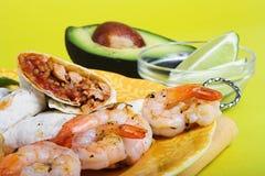 正餐墨西哥 免版税库存图片