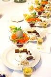 正餐复活节美食 免版税库存图片