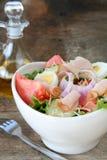 正餐沙拉 免版税库存照片