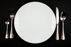 正餐设置 免版税图库摄影
