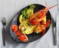 正餐龙虾 图库摄影