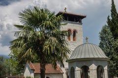 正统修道院Zdrebaonik在黑山 库存照片