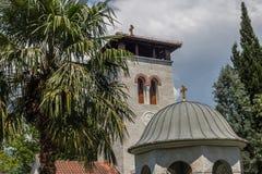 正统修道院Zdrebaonik在黑山 免版税库存照片