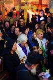正统基督受难日在耶路撒冷 图库摄影
