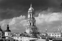 正统基督徒修道院, Pechersk拉夫拉,洞的基辅修道院,乌克兰 免版税库存照片