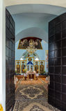 正统基督徒修道院 免版税库存图片