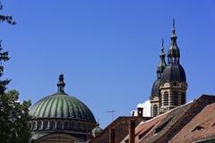 正统大教堂锡比乌罗马尼亚 库存图片