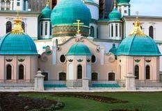 正统大教堂(细节) 免版税库存图片